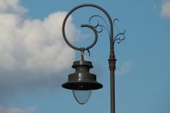 Lampa uliczna na ulicy Stefana Batorego