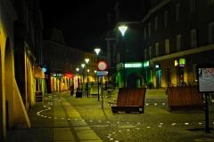 Ulica Długa  w Raciborzu po remoncie